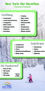New York Ski Vacation Packing Checklist|New York Rental By Owner