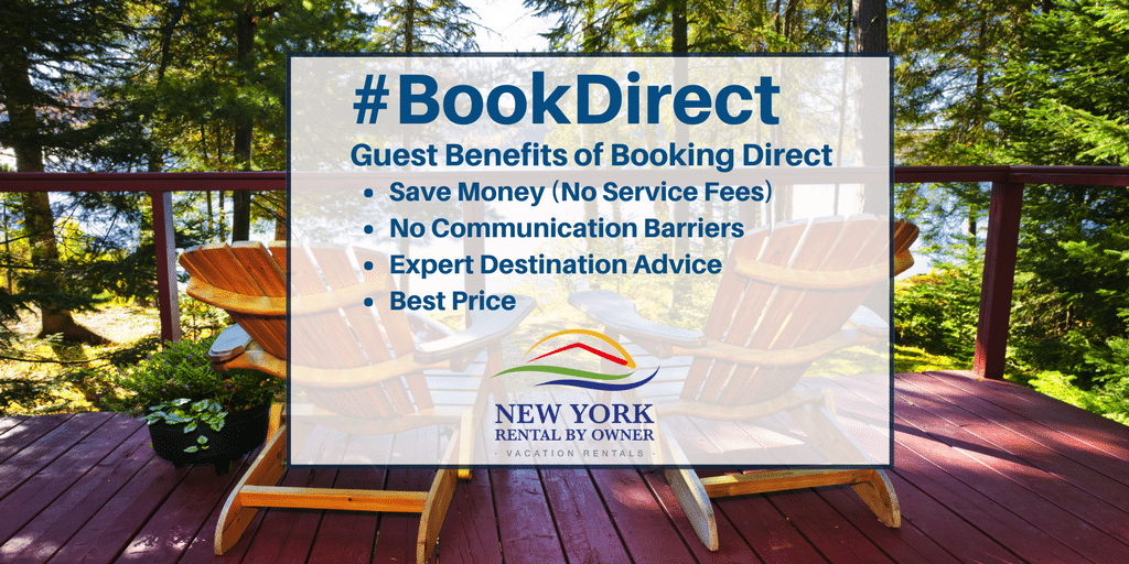 bookdirect to avoid booking fees on your next vacation rental