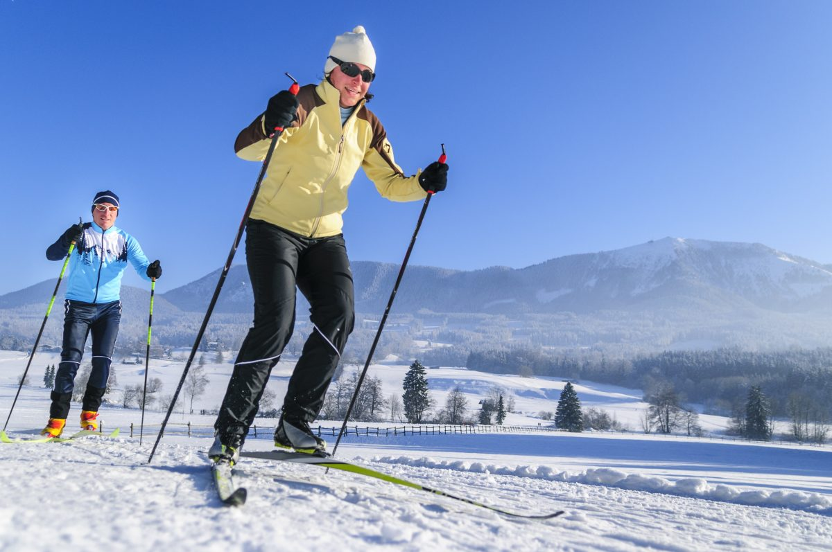 Cross Country Skiing during a Western New York Vacation